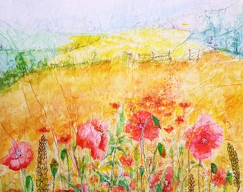 Cornfield Poppies