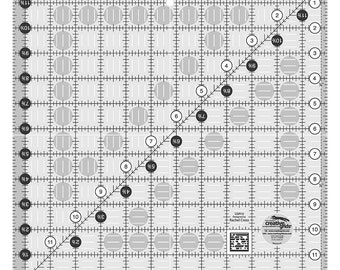 "Creative Grid Ruler CGR12. 12 1/2"" Square"