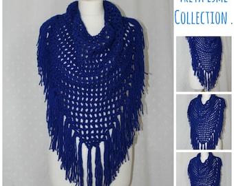 CROCHET SCARF PATTERN, Fringe Scarf Pattern, Fringe Scarf, Crochet Scarf, Crochet Pattern, Infinity Scarf, Crochet Fringe Scarf - pdf03