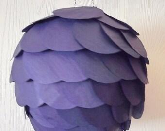 DIY Navy Blue Hanging Paper Lantern Kit