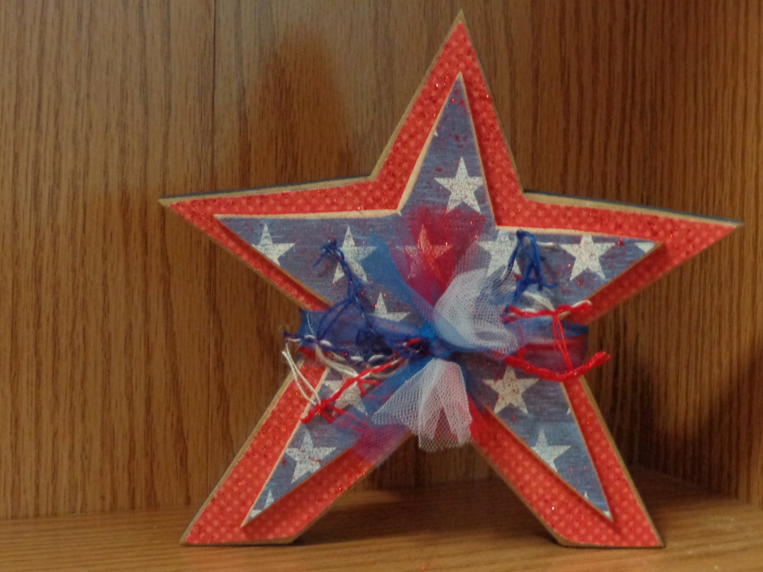 Summer Decor 4th Of July Decor Home Set Star By Hillbillyandme