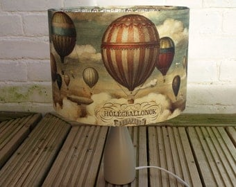 Vintage Hot Air Balloons Lampshade