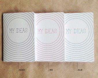 MY IDEAS Notebook (pack of 3)