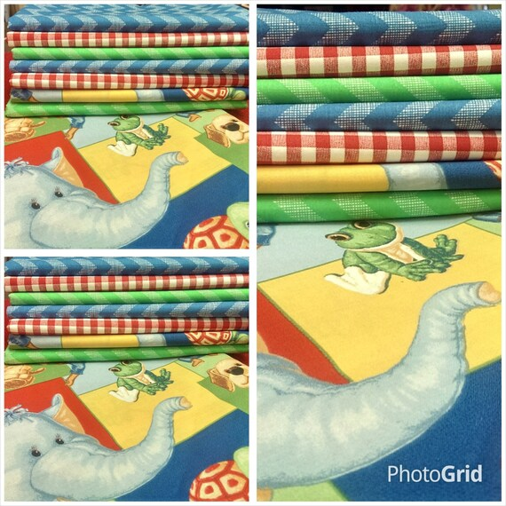 Kids fabric fabric bundle baby fabric novelty chevron for Kids novelty fabric