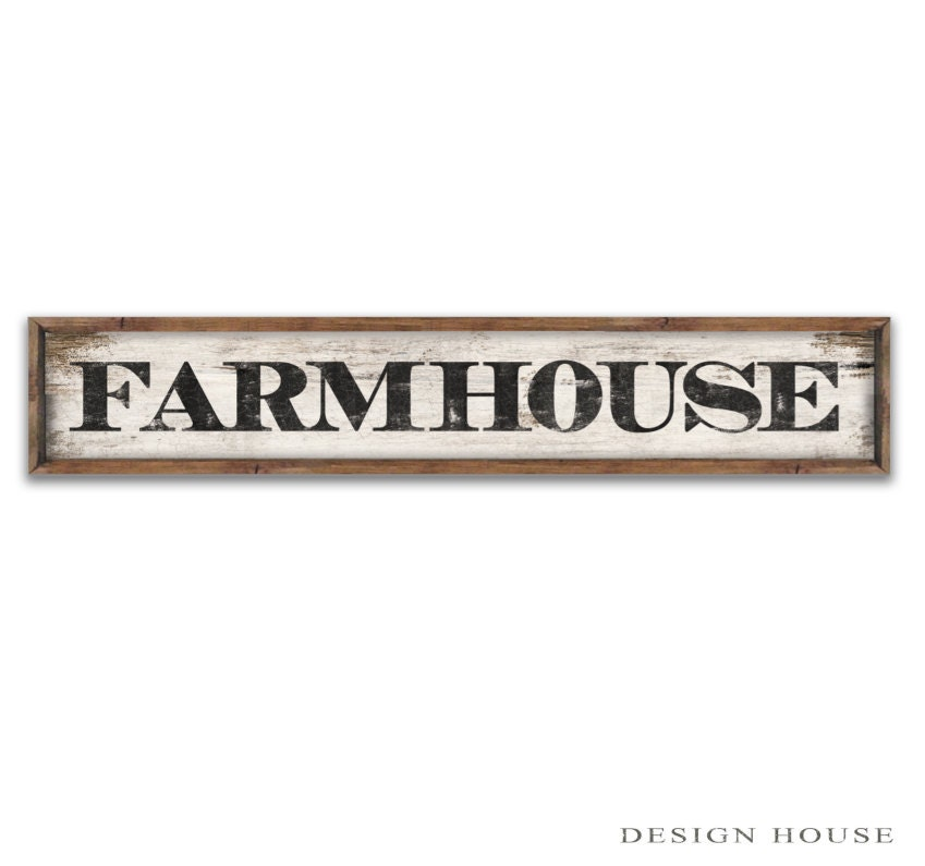 Farm House Sign Farm Signs Farm Plaques Farm House Decor Wooden Farm Sign Kitchen Signs Kitchen
