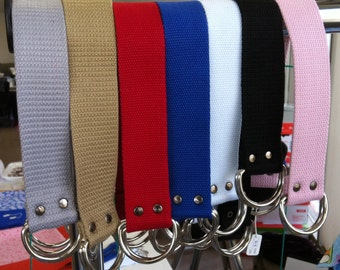 Canvas strap for furoshiki bags