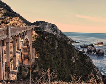 Big Sur Connector, Bixby Bridge, Central Coast, California