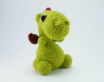 Crochet Dragon, Amigurumi Dragon, Stuffed Dragon, Soft Toy Dragon, Plush Dragon, Crochet Animal Toy