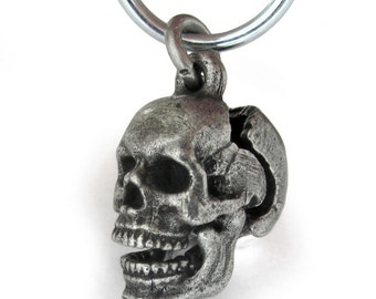 Human Skull Anatomy Locket