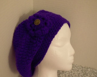 Crochet Souchy Barrette Hat FREE SHIPPING in USA
