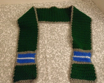 Little Boys Crochet Scarf FREE SHIPPING in USA