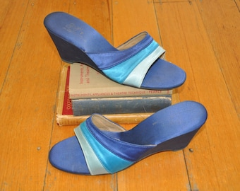 Fabulous 70's slide on heels