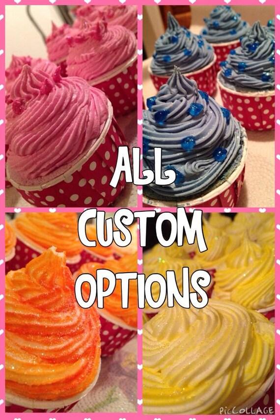 ALL Custom Bath Bomb Options / CUSTOM MADE / Vegan Bath Bombs / Dessert Scent / Party Favors / Ashley Soaps