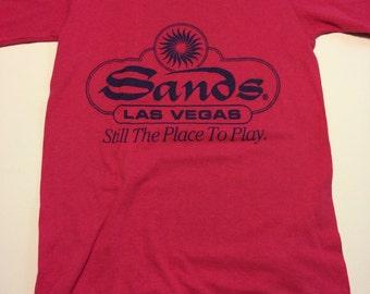 Vintage 90s Sands Las Vegas T-shirt