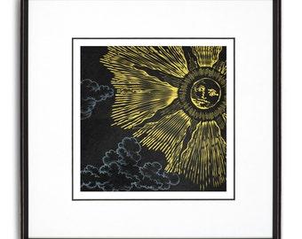 The Sun - Art Print