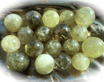 Smoky Citrine Sphere, Full Moon Charged, Chakra, Reiki, Crystal Grid, Sacred Space, Pagan Altar, Magic work!