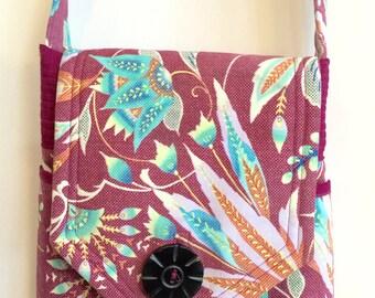 Amy Butler Fabric Structured Shoulder Bag