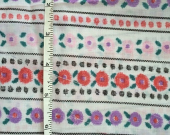 Fat quarter of vintage fabric.