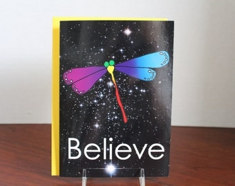 Believe Card (blank inside)