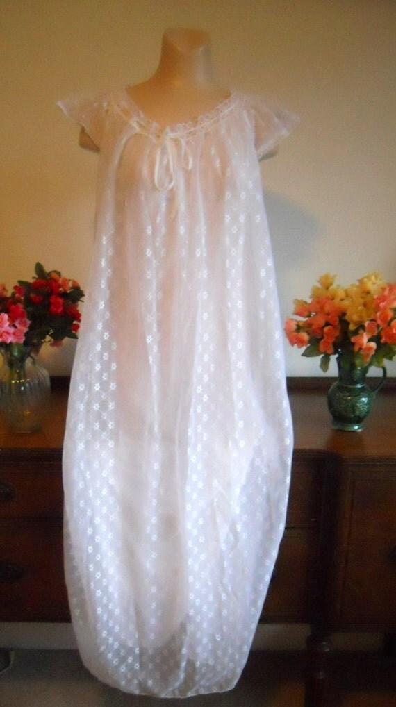 chemise de nuit longue vintage romantique mariage l gant robe. Black Bedroom Furniture Sets. Home Design Ideas