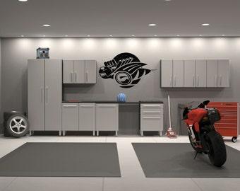 Dodge Charger Superbee Emblem Garage Decor Interior Wall Decal Sticker