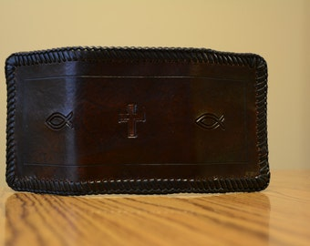 Leather Trifold Billfold