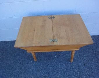Antique Dough Table/Completely Refinished
