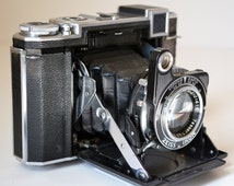 Zeiss Ikon Super Ikonta 532/16 w Tessar 2.8 Lens and Case.