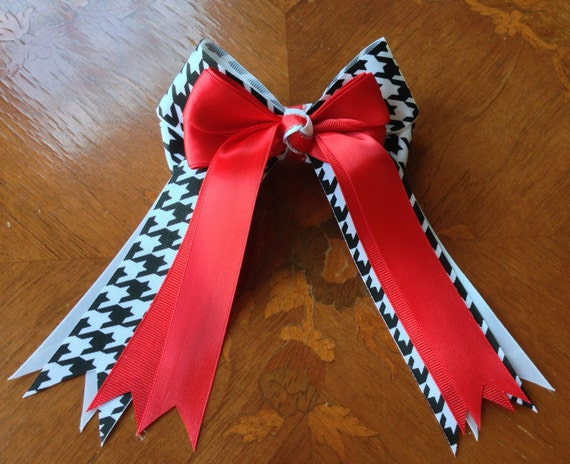 how to make horse show hair bows