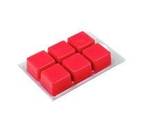 Set of 30 // Wax Tart Clamshell Mold // 6 Cavity Plastic Clamshell