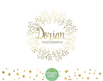 Dorian - Premade Logo Design - Photographer Logo - Small business logo - Boutique Logo - Blog Logo