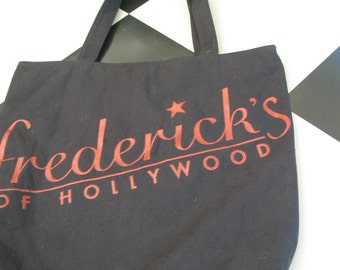 "Vintage ""Frederick's Of Hollywood"" Tote Bag"
