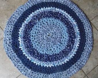 Rag rugs: woven, braided, knit, crochet, prodded — Home