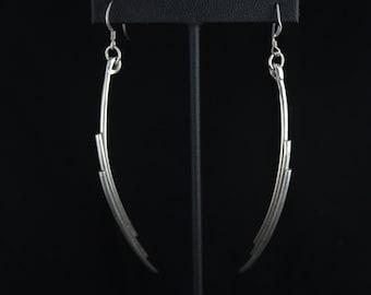 Tri Dangle Earrings
