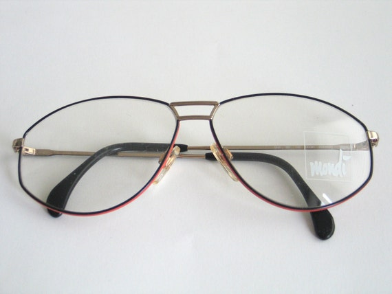 Eyeglasses Frame Made In Germany : Metzler Mondi eyeglasses frame made in the 80s in