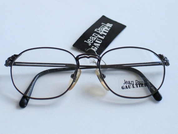 Eyeglass Frames Made In Japan : Jean Paul Gaultier made in Japan unisex metal eyeglasses