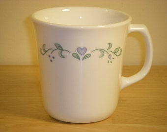 "Corelle by Corning 'Country Cottage' Cup or Mug, 3-3/8"" diameter x 3-1/2"" tall"