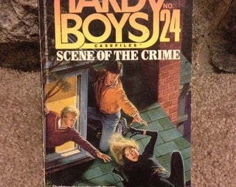 The Hardy Boys Scene of the Crime By Franklin W. Dixon 1989