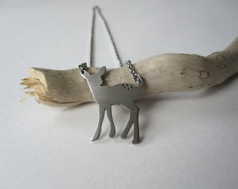 Fawn Necklace - stainless steel