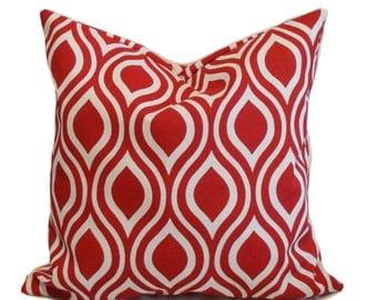 Sale!!, Outdoor pillow cover, 18x18, Outdoor decorative pillow, Outdoor throw pillow, Outdoor cushion, Red outdoor pillow, Cheap pillow