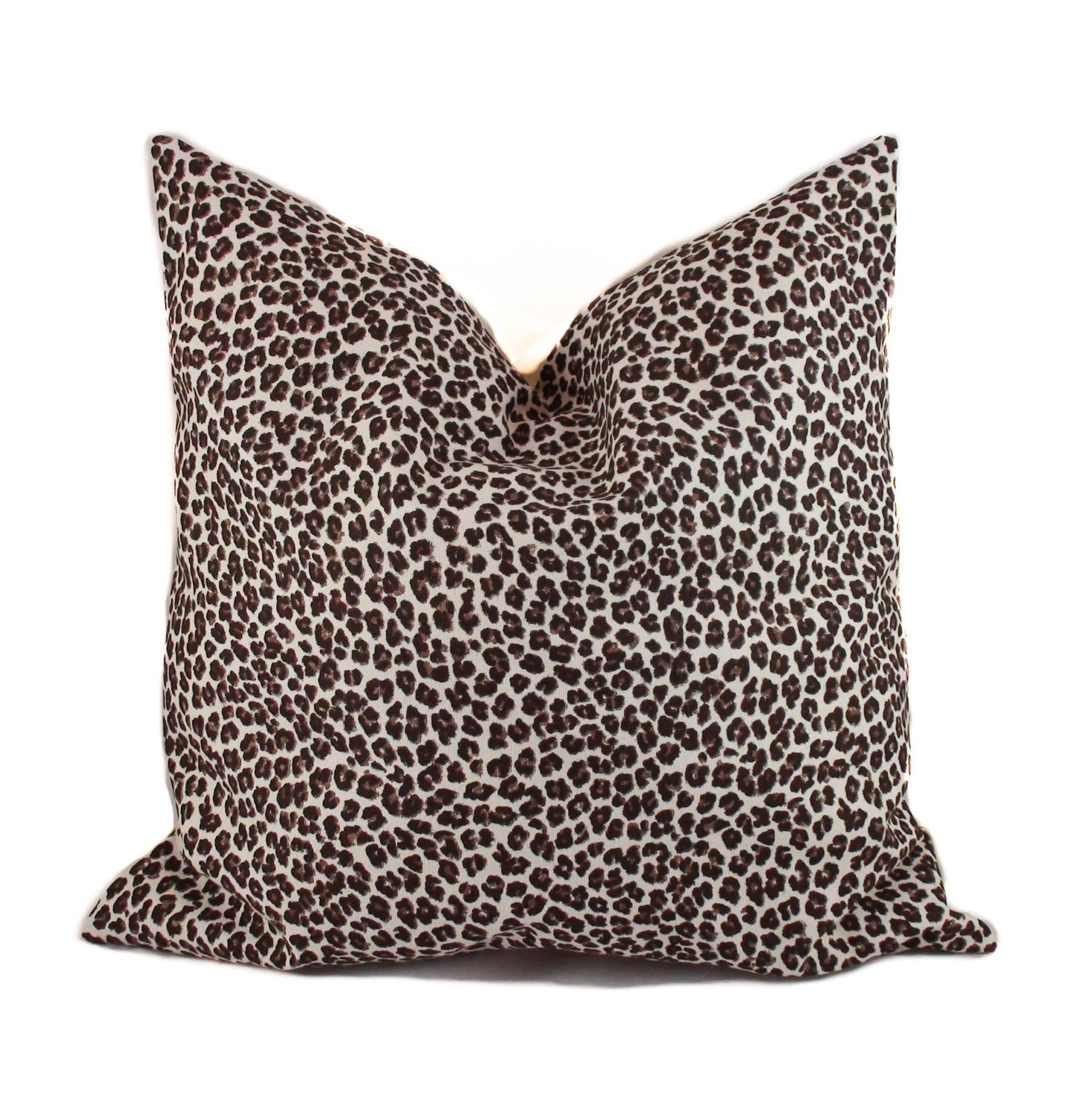 Animal Pillows : Leopard pillow 18x18 Animal print pillow Decorative pillow