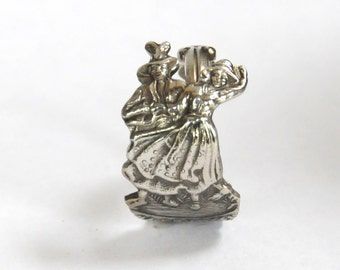 dancing ring, austrian ring, spoon ring,  bavarian ring