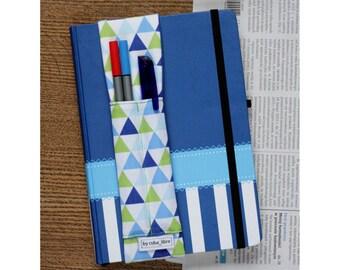 MTO Notebook pen holder - Triangles