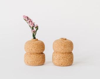 Cork Bud Vase