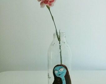 sally nightmare before christmas inspired vase or wineglass