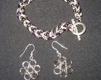 Chainmaille Jewelry Set