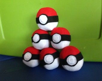 Plush Pokeball Pack