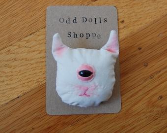 Odd Kitty Pin/Badge ((Made to Order))