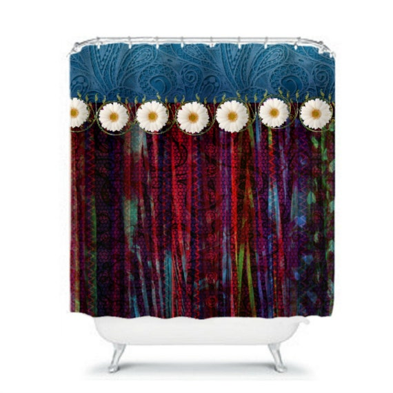 Items Similar To Shower Curtain Sweet Gypsy Layered Boho