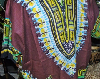 African Dashiki Brown